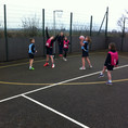 Leven win the netball at Hornsea